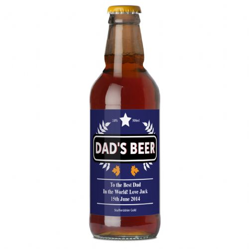 Personalised Blue Wheat Beer